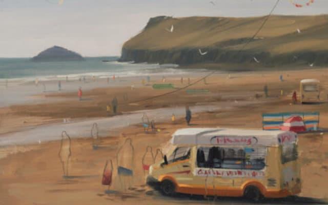 Tom hughes pianter ice cream van