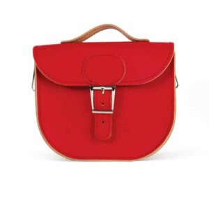 Vintage Red Half Pint Satchel