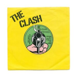 White man in hammersmith palais 7 inch single Giclée print