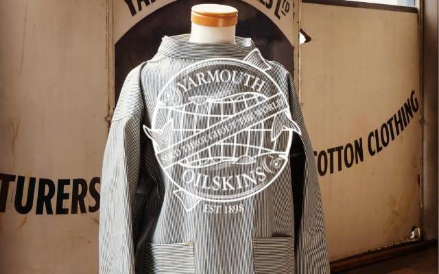 YArmouth Oilskins brand lock up - British Brands