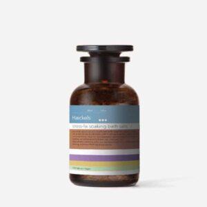 Haeckels seaweed bath salts, made in kent relaxing bathing salts