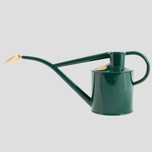 HAWS Rowley Ripple Green Watering Can, haws metal indoor watering can