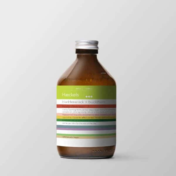 haeckels body cleanser, seaweed body cleanser, skin cleanser made of seaweed, made in Kent