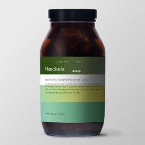 haeckels metabolism tea west