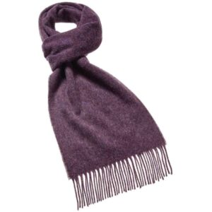 Plain Scarf – Purple Heather