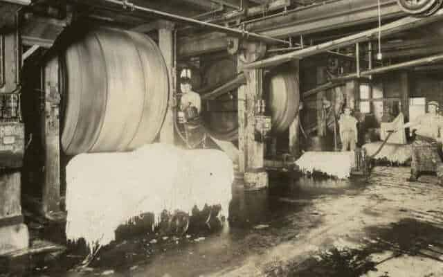 history of leather black and white tannery
