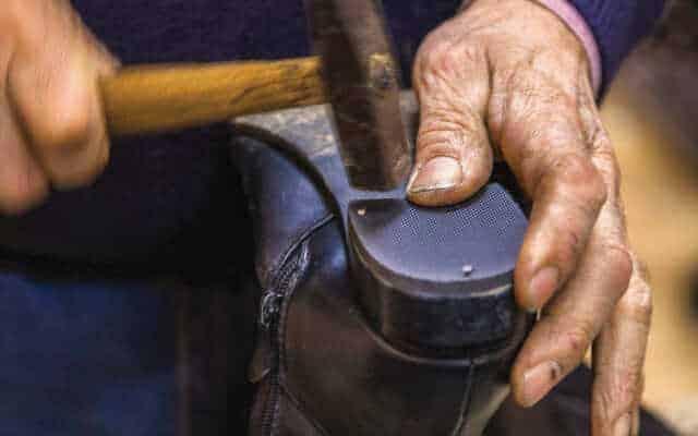 history of leather shoemaking