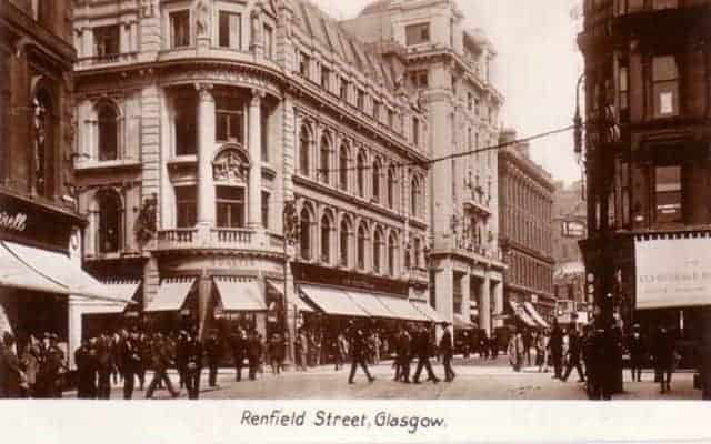 renfiled street glasgow the story of a nation of shopkeepers