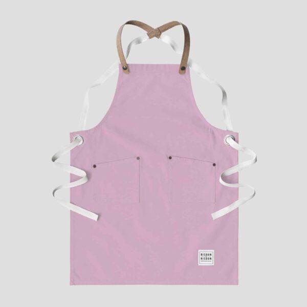 risdon and risdon pink children's apron kids pink apron studio apron with cork straps for kids