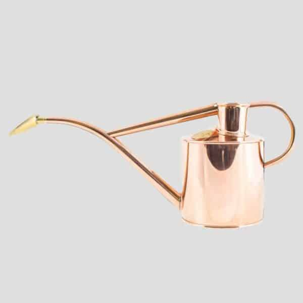 Haws rowley ripple copper two pint copper watering can