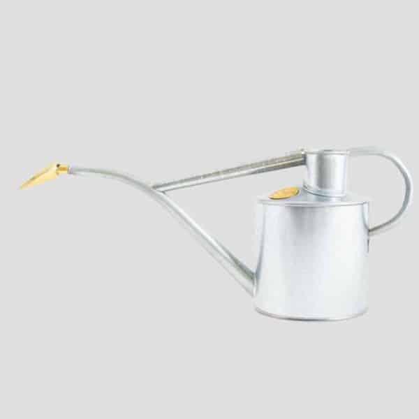 Rowley Ripple Galvanised Watering Can Haws metal indoor watering galvanised metal watering can