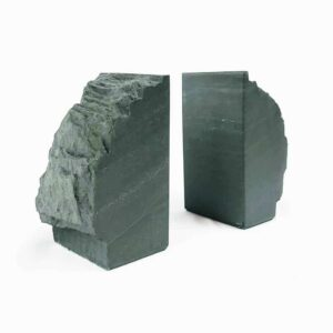 Rustic Slate Bookends