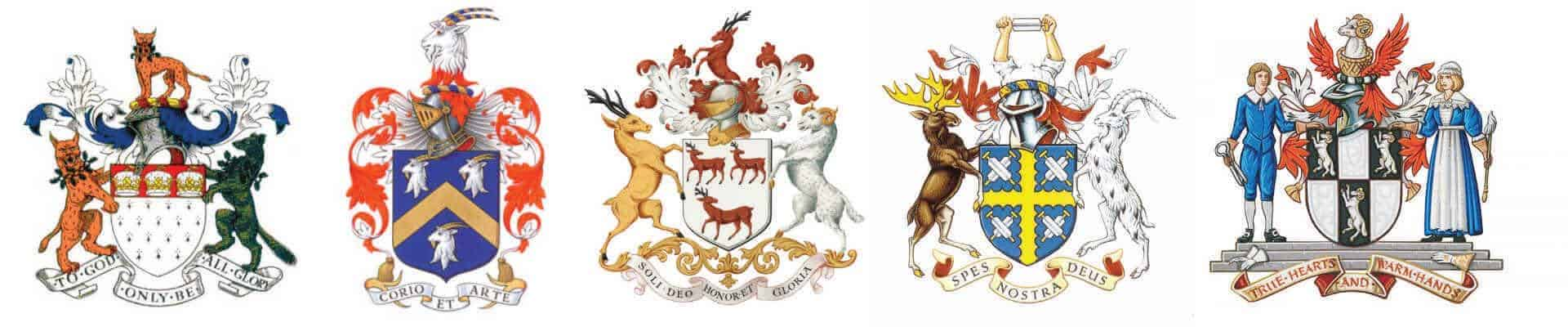 worshipful livery crests small
